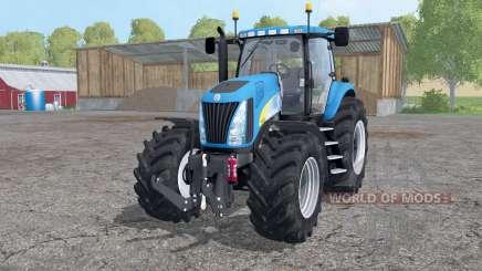 New Holland TG 285 wheels weights para Farming Simulator 2015