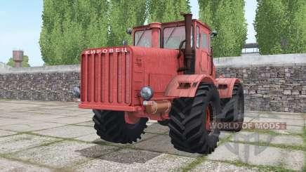Kirovets K-700 rojo para Farming Simulator 2017
