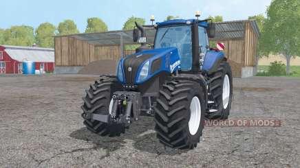 New Holland T8.420 animation parts para Farming Simulator 2015