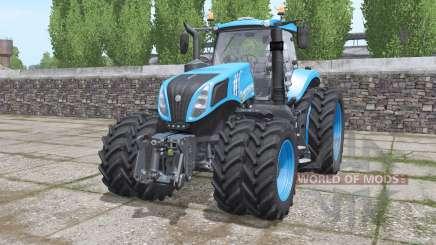 New Holland T8.435 front loader para Farming Simulator 2017