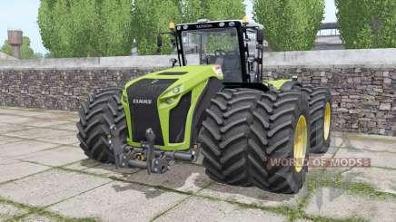Claas Xerion 4500 Trac VC wheels selection para Farming Simulator 2017