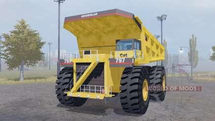 Caterpillar 797 para Farming Simulator 2013