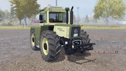 Mercedes-Benz Trac 1600 Turbo change wheels para Farming Simulator 2013