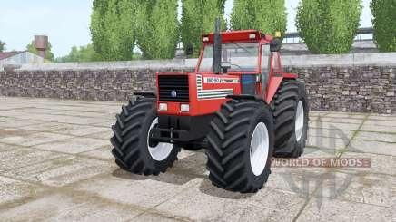 Fiat 180-90 Turbo wide tyre Michelin para Farming Simulator 2017