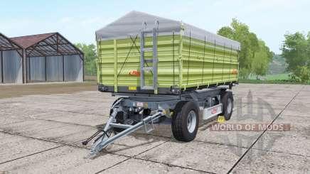Fliegl DK 180-88 desaturated yellow para Farming Simulator 2017