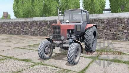 MTZ 82 Bielorrusia, con una selección de configuraciones para Farming Simulator 2017