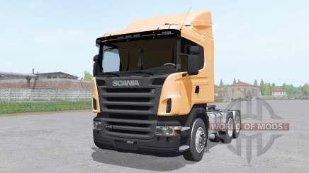 Scania R440 tractor normal cab para Farming Simulator 2017