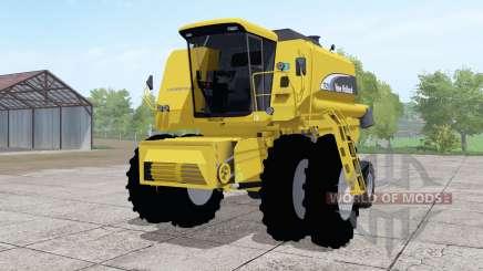 New Holland TC59 dual front wheels para Farming Simulator 2017