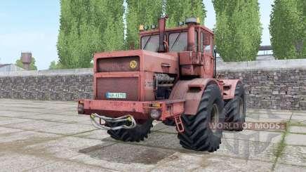 Kirovets K-700A ninasimone-rojo para Farming Simulator 2017