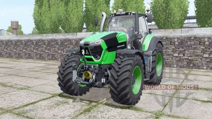 Deutz-Fahr Agrotron 9310 TTV real sounds engine para Farming Simulator 2017