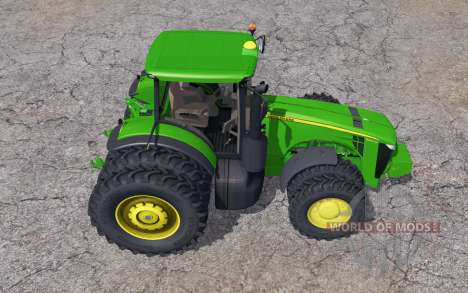John Deere 8360R double wheels para Farming Simulator 2013