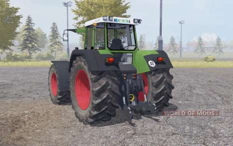 Fendt Favorit 824 double wheels para Farming Simulator 2013