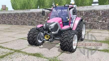 Lindner Lintrac 90 narrow twin wheels para Farming Simulator 2017