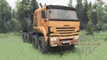 KamAZ 65228 v2.0 para Spin Tires