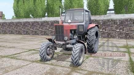 MTZ-82 viejo diesel para Farming Simulator 2017