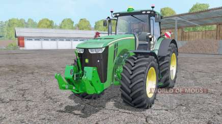 John Deere 8370R animation parts para Farming Simulator 2015