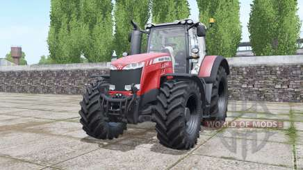 Massey Ferguson 8727 animated element para Farming Simulator 2017