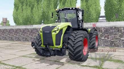 Claas Xerion 4000 engine configuration para Farming Simulator 2017