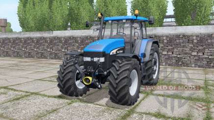 Nueva Hollᶏnd TM190 para Farming Simulator 2017