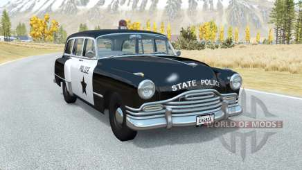 Burnside Special wagon Police para BeamNG Drive