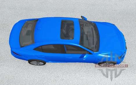 Lexus IS 350 F Sport (XE30) 2014 para BeamNG Drive