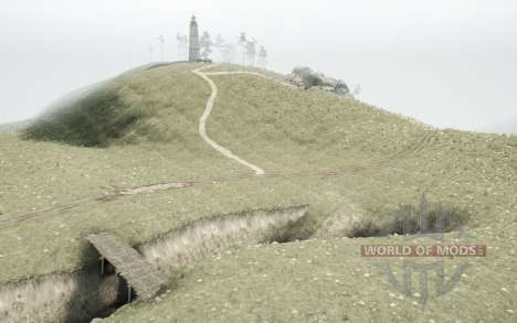 Mongolian Terrain para Spintires MudRunner
