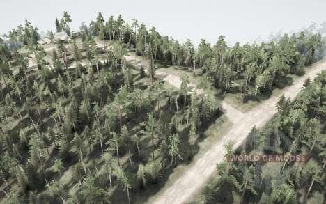 El cambio en el bosque para Spintires MudRunner