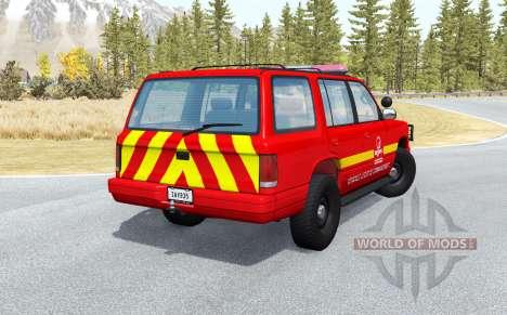 Gavril Roamer French Pompiers v1.0.2 para BeamNG Drive