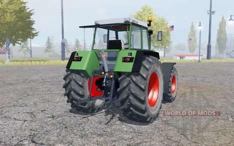 Fendt Favorit 615 LSA Turbomatik double wheels para Farming Simulator 2013