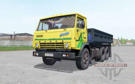 KamAZ 5320 con un remolque de NEPA 8560 para Farming Simulator 2017