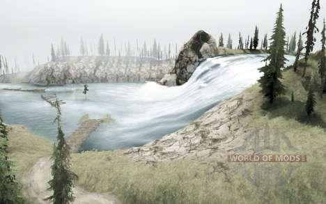 Río de montaña para Spintires MudRunner