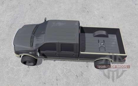 Ford F-350 Crew Cab King Ranch 2006 para Farming Simulator 2017