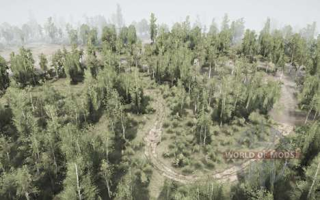 Back Woods - The Flood para Spintires MudRunner