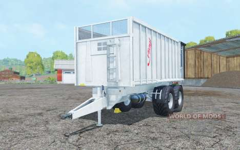 Fliegl TMK 266 Bull low hitch para Farming Simulator 2015