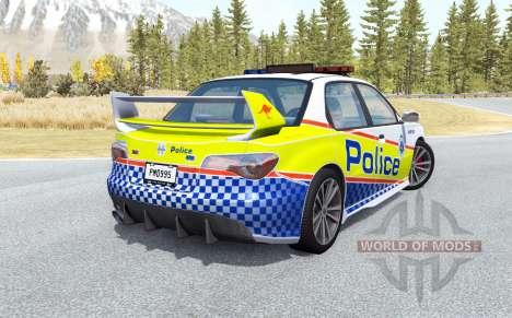 Hirochi Sunburst Australian Police v0.2.1 para BeamNG Drive