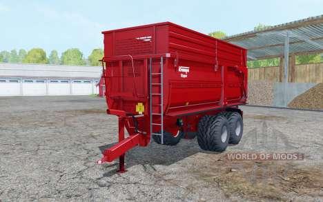 Krampe Big Body 650 S para Farming Simulator 2015