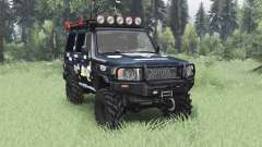 Toyota Land Cruiser 70 (J76) 2007 Expedition para Spin Tires