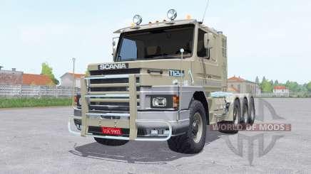 Scania T112ⱧW 8x8 para Farming Simulator 2017
