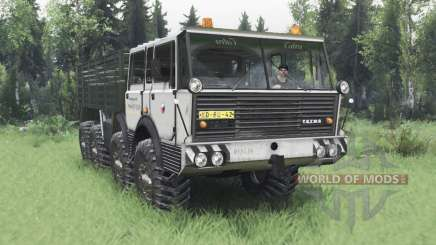 Tatra T813 TP 8x8 1967 Kings Off-Road 2 v1.1 para Spin Tires