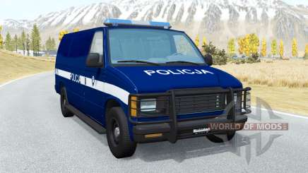 Gavril H-Series Polish Police v3.0 para BeamNG Drive