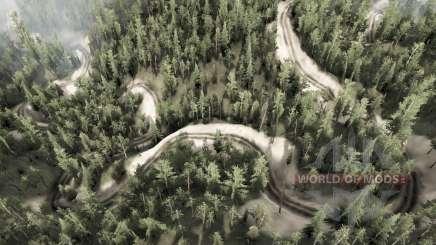 6 camino de la serpiente para MudRunner