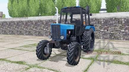MTZ 82 Belarús control interactivo para Farming Simulator 2017