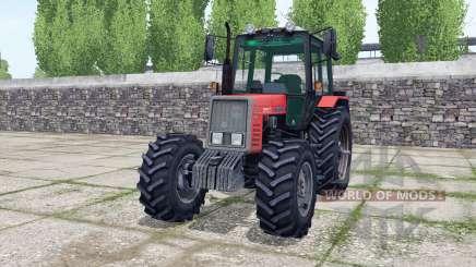 MTZ-820 dos ruedas traseras para Farming Simulator 2017