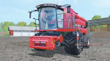 Case IH Axial-Flow 7130 increased steering angle para Farming Simulator 2015