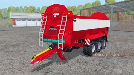 Krampe Bandit 800 fruit varieties para Farming Simulator 2015
