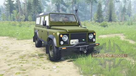 Land Rover Defendeᶉ 110 Station Wagon para MudRunner