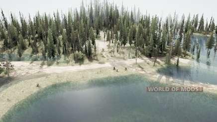 El bosque inundado 2 para MudRunner