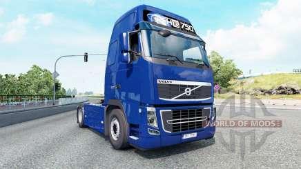 Volvo FH16 750 Globetrotter XL cab 2012 v1.3 para Euro Truck Simulator 2
