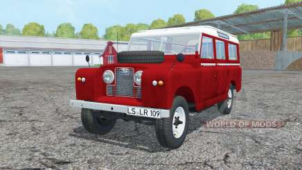 Land Rover Series II 109 Station Wagon 1965 para Farming Simulator 2015