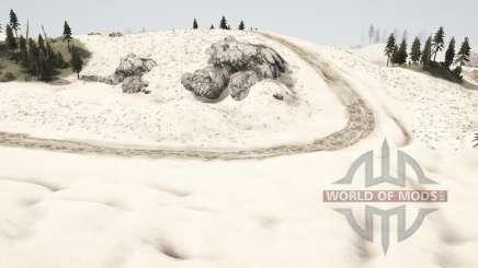 Las dunas de arena para MudRunner